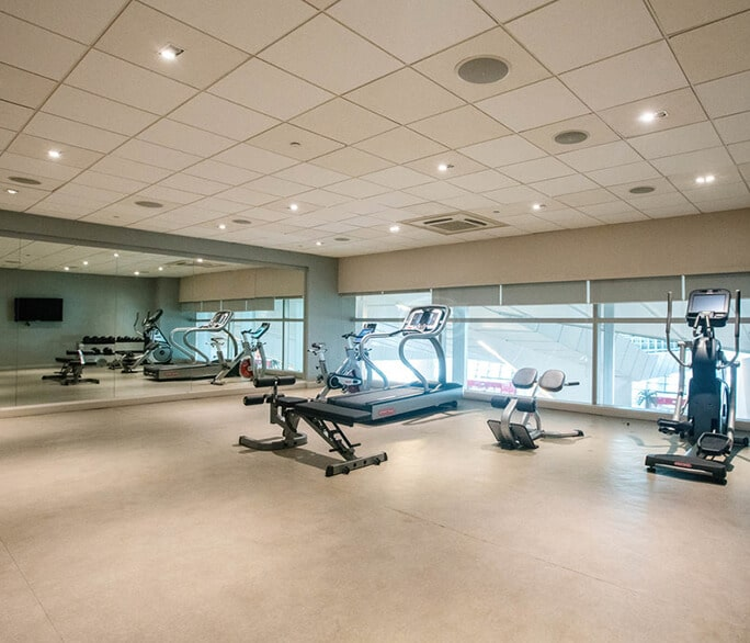Image of gym at hotel