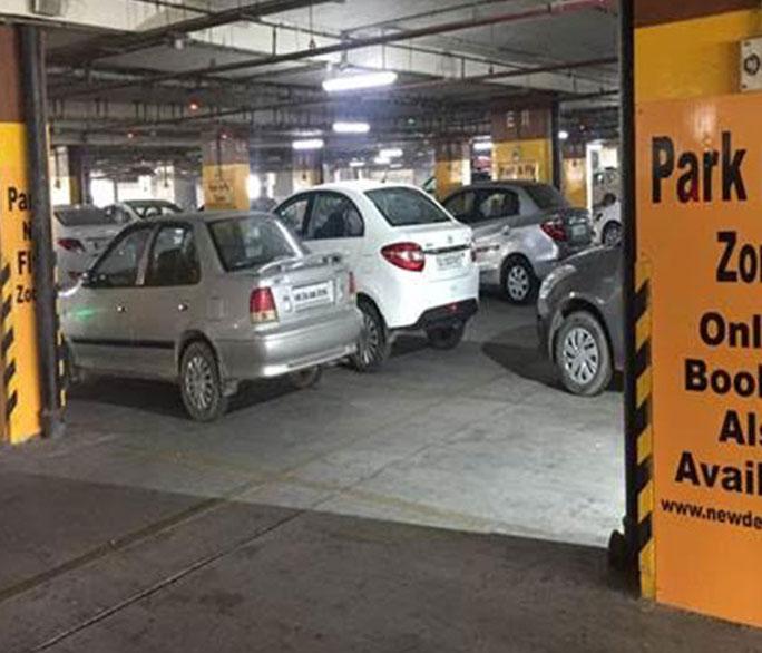 Parking facility | Delhi Airport